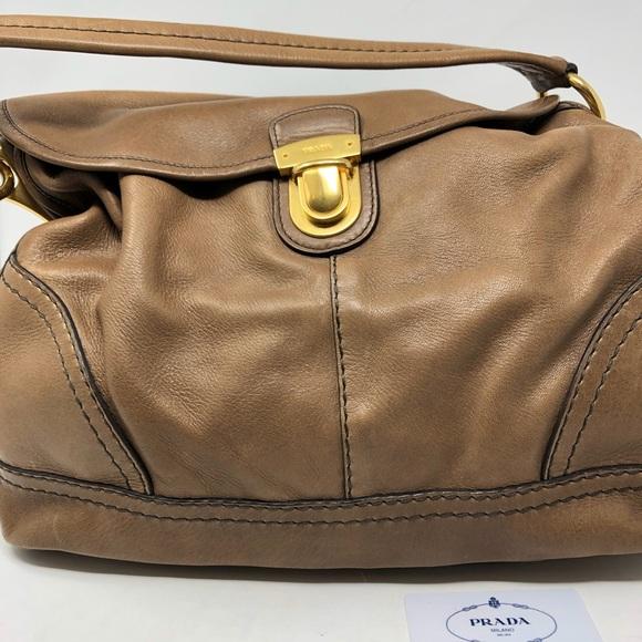 704f6200ad4c Prada Bags | Guaranteed Authentic Nappa Shoulder Bag | Poshmark